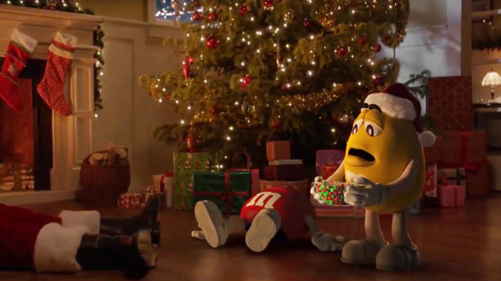 Iconic M&M's Holiday Ad Finally Gets a Sequel, 21 Years Later