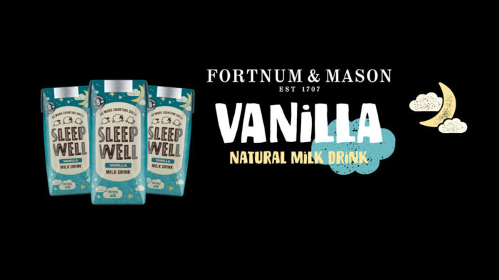 Fortnum & Mason Announced as First UK Stockists for Sleep Well Milk