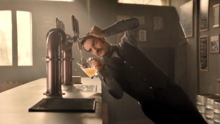Tilt Your Screen for Birra Moretti's Latest Ad from Armando Testa