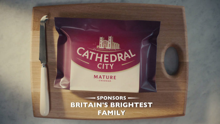 Cathedral City Announces Sponsorship of 'Britain's Brightest Family' on ITV