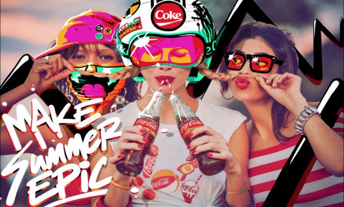 Coca-Cola Australia Launches New 'Coke's Epic Summer' Creative Campaign