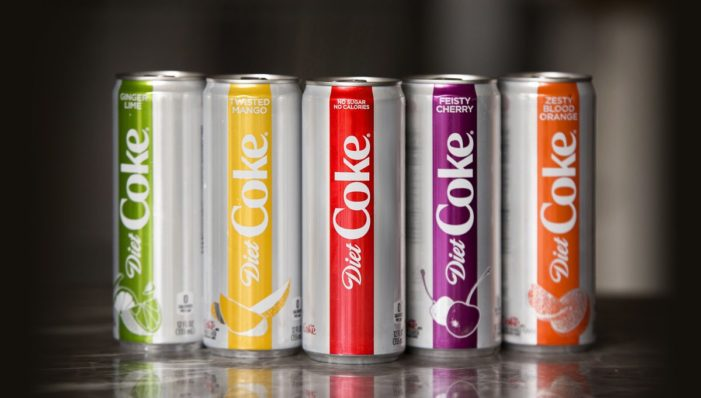 Diet Coke Launches into 2018 with Full Brand Re-stage in North America