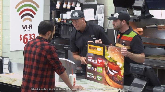 "Burger King Takes on Net Neutrality via ""Whopper Neutrality"" Social Experiment"