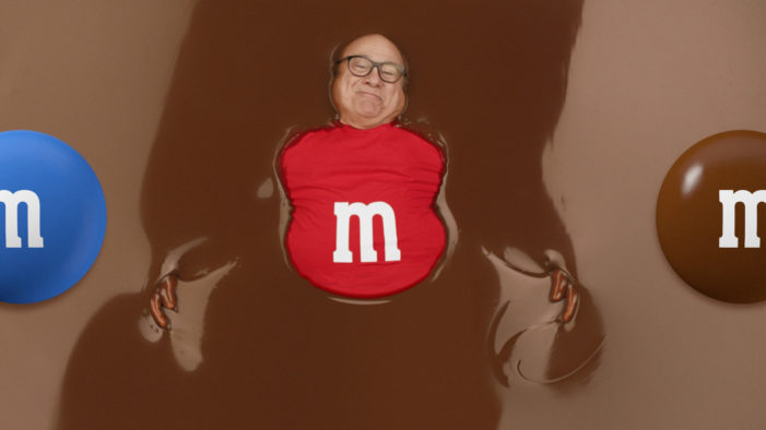 Danny DeVito to Star in M&M's Super Bowl LII Commercial by BBDO New York