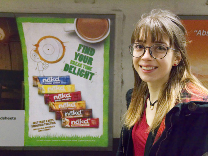 Nākd's Social Media Campaign Sees Fans' Doodles Appear Across OOH Billboards