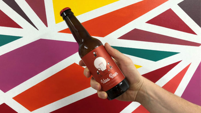 Tech Firm Launches Idea Beer to Get Creative Juices Flowing