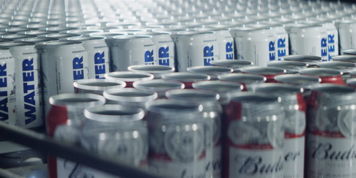 Budweiser Switches to Water to Help Out Those in Need for its Super Bowl Ad