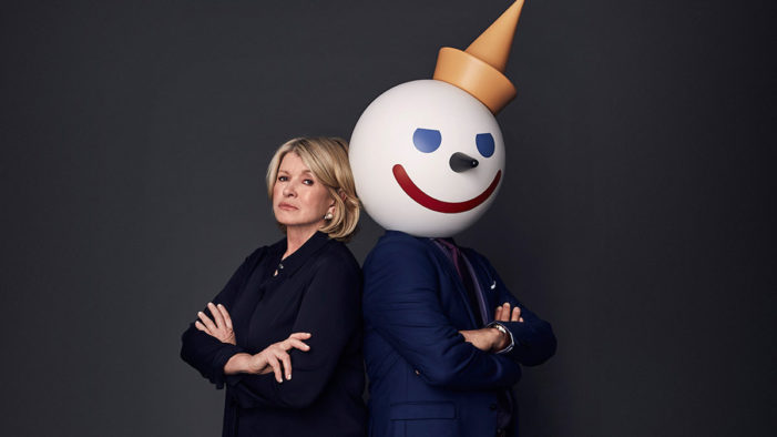 Martha Stewart and Jack in the Box Go to War in Super Bowl Ad