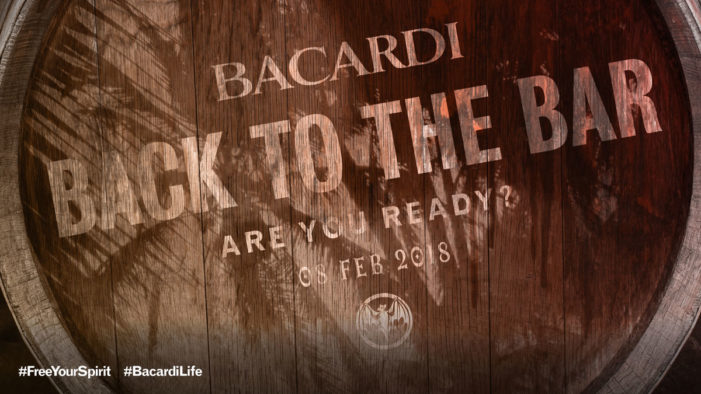 """Bacardi Limited Launches """"Back to the Bar"""" Campaign"""