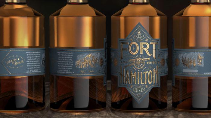 Bulletproof Creates Branding for New Premium Rye Whiskey Brand, Fort Hamilton