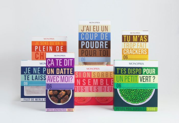 Monoprix and Rosapark Introduce Phone Number-Inspired Gift Packs for Valentine's Day