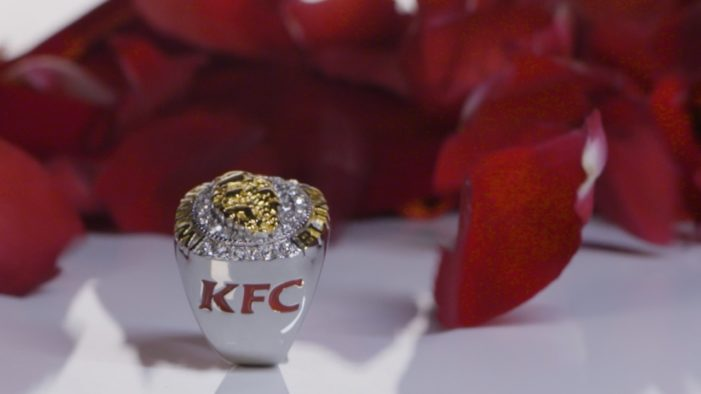 KFC Launch Custom Rings to Help Aussies Celebrate their Wingmen in Campaign by Ogilvy Sydney