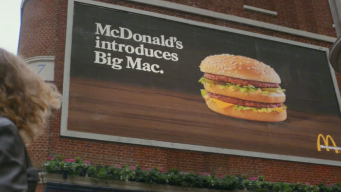 McDonald's New Campaign By Leo Burnett London Relives The First-Ever Big Mac