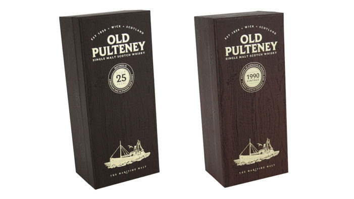 Pollard Group Provide Distinctive Presentation Boxes For Pulteney Distillery Whiskies