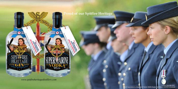 Spitfire Heritage Distillers Partner Royal Air Forces Association for RAF Centenary Celebration