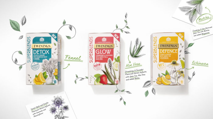 Twinings Launches Vibrant New SuperBlends Range with Help from BrandOpus
