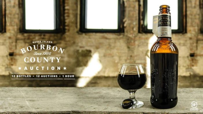 Goose Island to Auction off 12 Bottles of Bourbon County Stout on Facebook Live via Taboo
