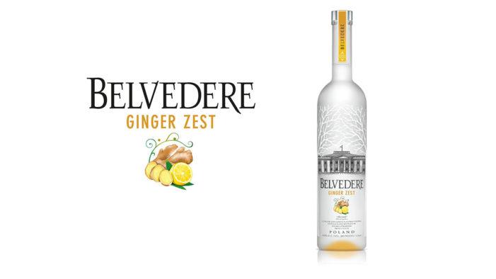 Belvedere Vodka Debuts New Expression, Ginger Zest
