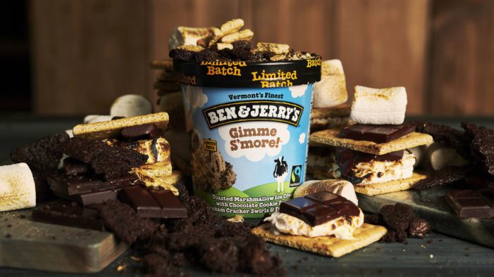 Ben & Jerry's Launches New Gimme S'more Flavour On Facebook Live
