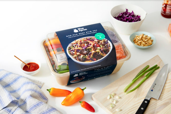 Blue Apron is Planning to Sell Meal Kits in Stores