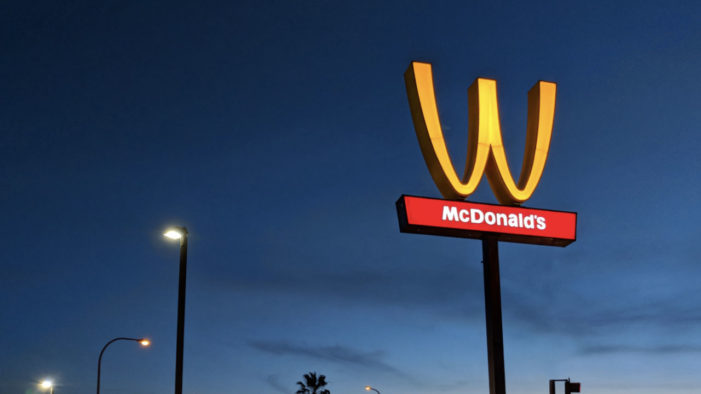 McDonald's Flips its Arches Upside for International Women's Day