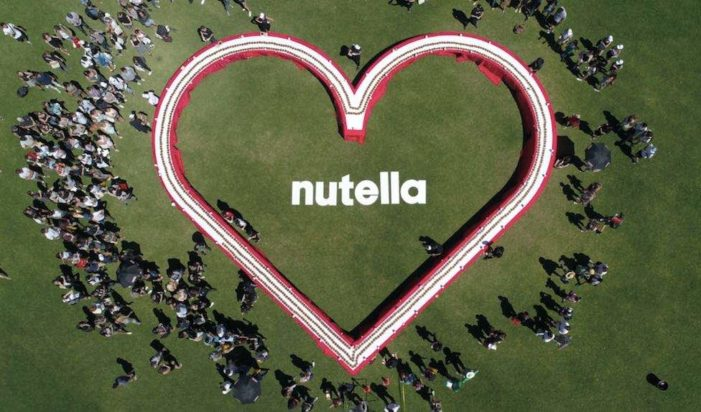 Nutella Spreads a Little Love in February with Guinness World Record