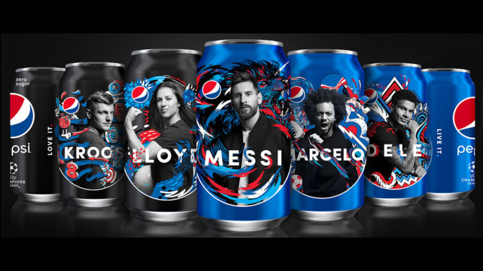 Painting The World Blue: Pepsi Loves & Lives Football with Global 2018 Campaign
