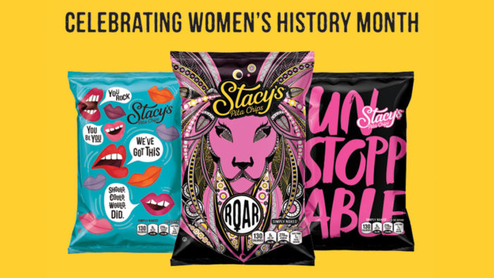 Stacy's Pita Chips Debuts Original Art Packaging in Honour of Women's History Month