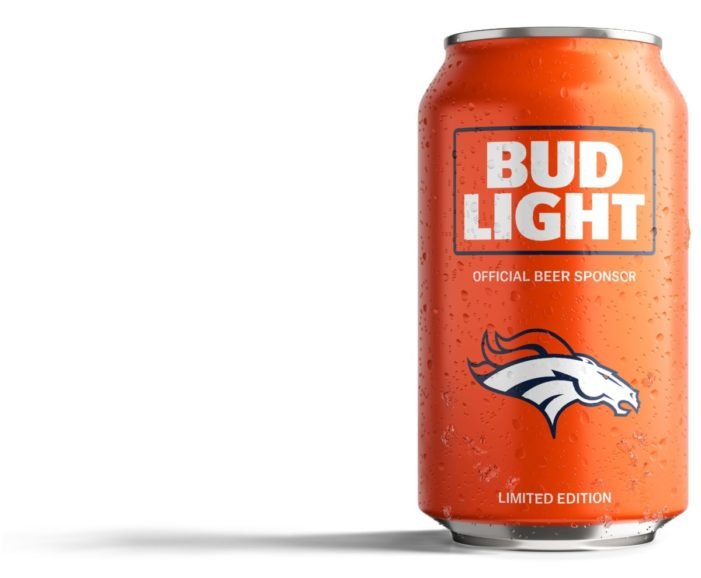 Bud Light Offers Free Beer to Denver Broncos Mobile Fans
