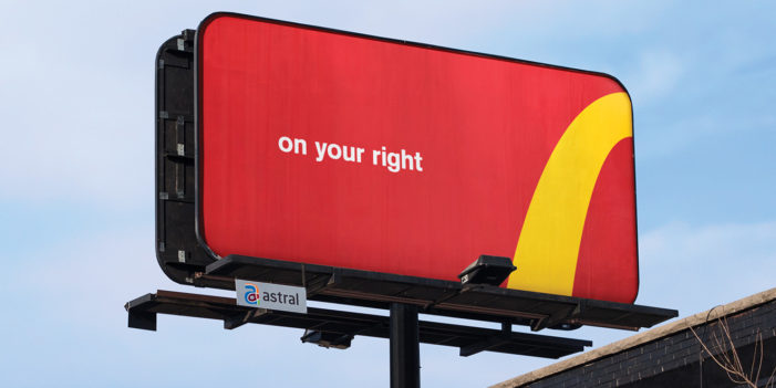 McDonald's and Cossette Crop the Golden Arches to Direct Customers to the Closest Restaurant