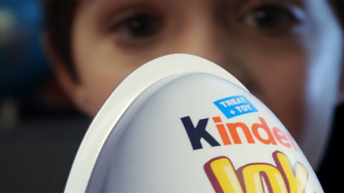 Ferrero is Using the Oscars to Introduce Kinder Joy to America