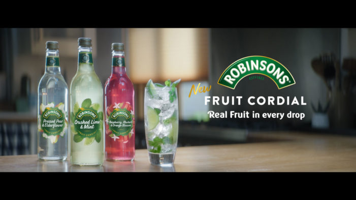 Saatchi & Saatchi London and Britvic-owned Robinsons launch Fruit Cordial campaign