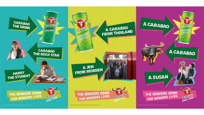 """SNAP LDN Launches New Campaign for Carabao Energy Drink, """"The Bonkers Drink for Bonkers Lives"""""""