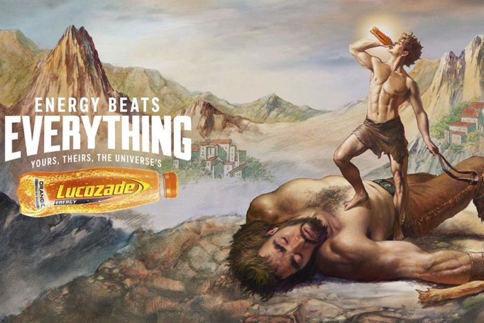 Lucozade Proves 'Energy Beats Everything' with Campaign of Biblical Proportions by Grey London