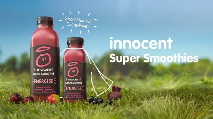 Innocent Super Smoothies Show Drinkers How to Live on the Bright Side