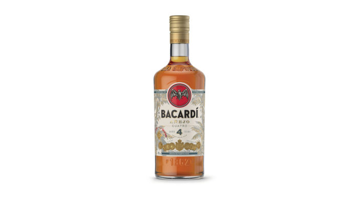 Bacardí Rum Shakes up the Dark Spirits World with the Launch of New Bacardí Cuatro