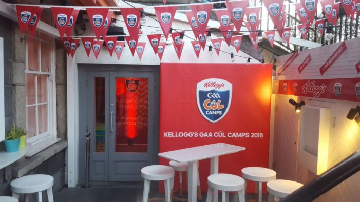 Kellogg's Launches Sports Camp with Cereal Café Pop-up in Dublin