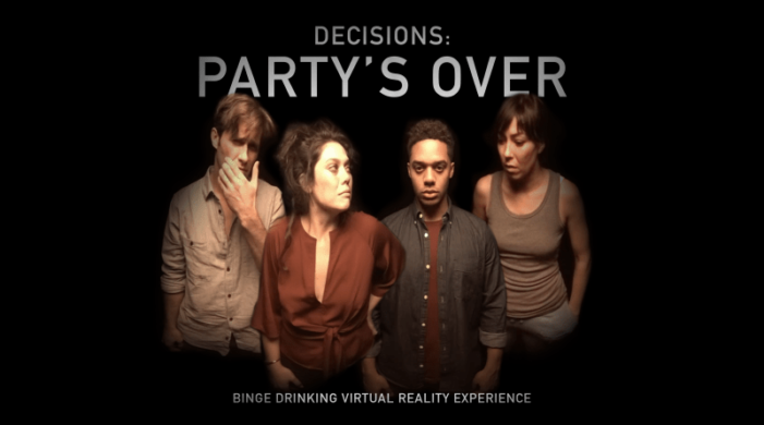 Diageo VR Experience Brings the Reality of Binge Drinking to Life