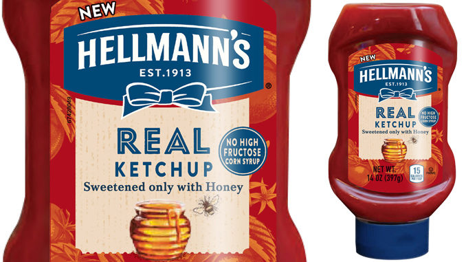 Hellmann's Makes Ketchup History by Introducing New Hellmann's REAL Ketchup in the US