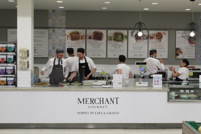 Merchant Gourmet and Waitrose Team Up to Launch In-Store Grain & Graze Counter