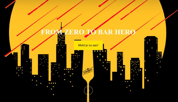 Schweppes Seeks Cocktail Novice to Transform Into 'Bar Hero'