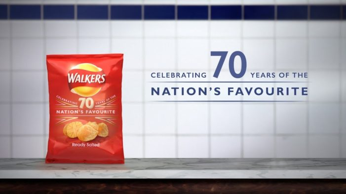 Walkers Trumpets 70th Anniversary with Retrospective TV Campaign by AMV BBDO