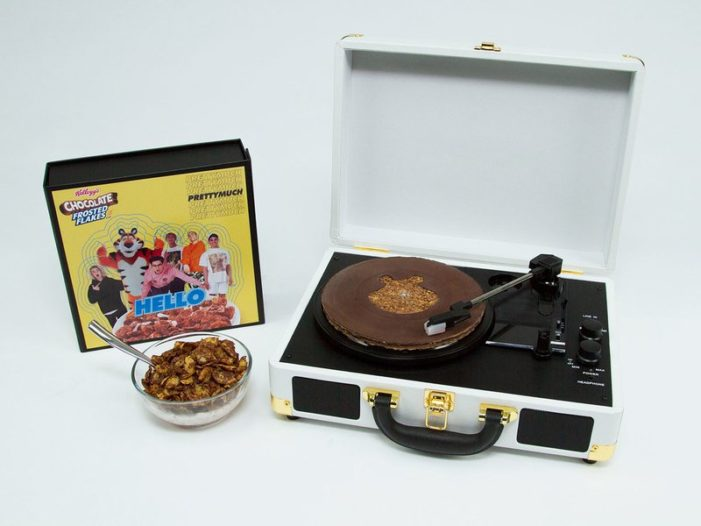 Kellogg's Chocolate Frosted Flakes Drops First-Ever Record Made Of Cereal