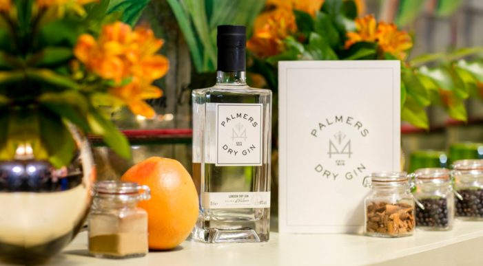 Nude Brand Creation Captures the Spirit of Palmers 44 Dry Gin