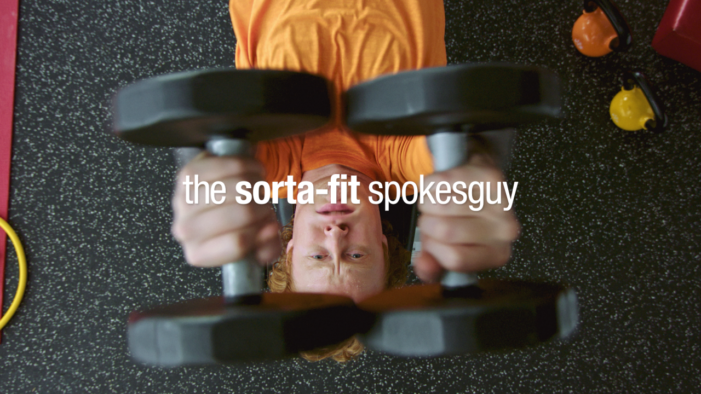 Vitaminwater Features 'Sorta-Fit Spokesguy' to Inspire the Average Gym Goer