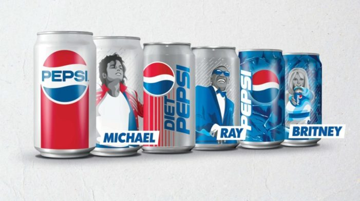 Pepsi Generations Summer Campaign Celebrates the Brand's Rich Music History With Retro Cans
