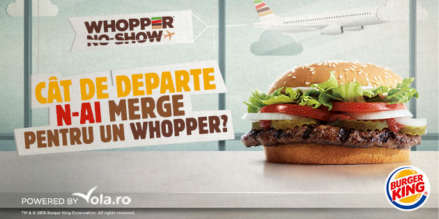 Burger King's Latest Crazy Idea Asks People to Trade In Their Flights for a Whopper