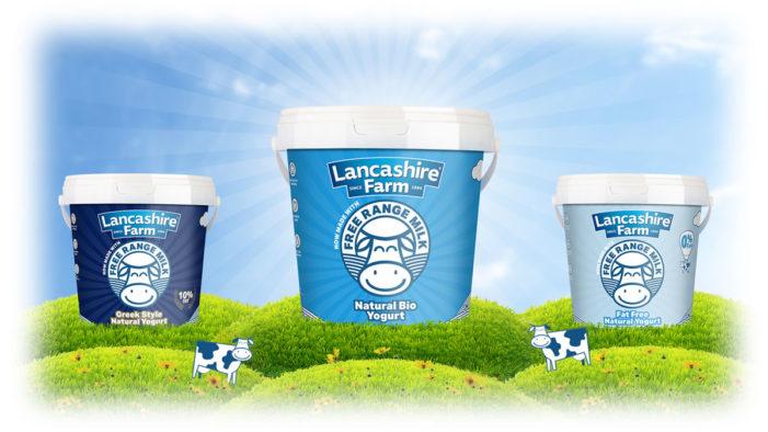 Lancashire Farm Dairies is First to Launch Free-Range Yogurt in the UK