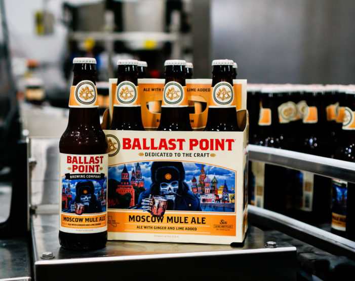 Ballast Point Releases New Cocktail-Inspired Moscow Mule Ale US-wide