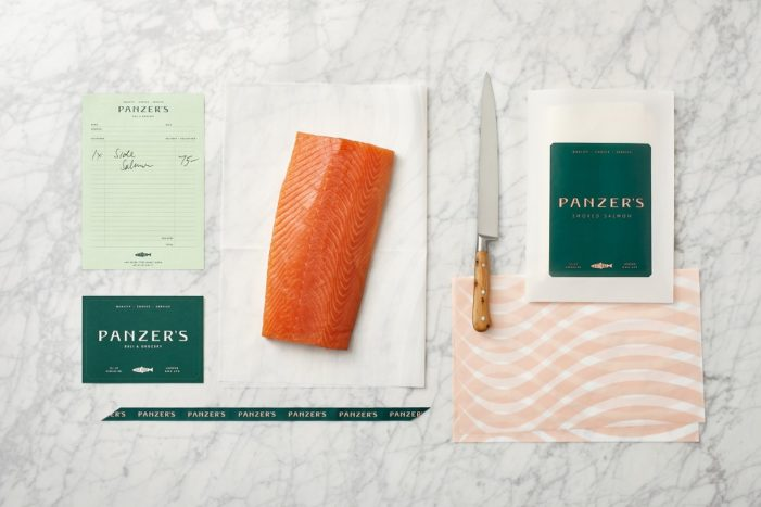 Here Design Delivers Modern Brand Refresh for Panzer's Deli